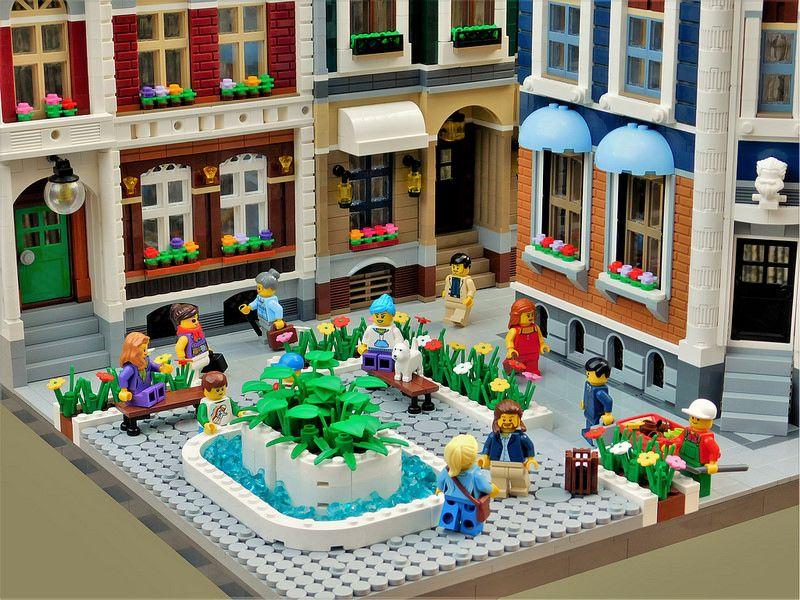 Expand The Winter Village Winners Lego Lego Modular Lego Ideen