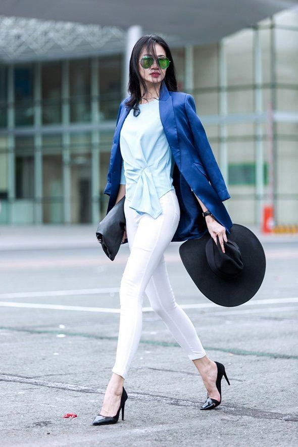 """Mê mẩn phong cách cực chất của """"nữ hoàng street style"""" Thanh Trúc"""