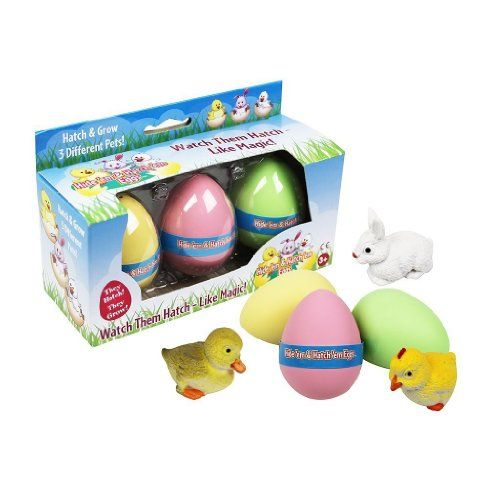 Easter Eggs - Hide Em and Hatch Em Eggs - Watch Them Hatch Like Magic Three Different Pets! (Series 1)