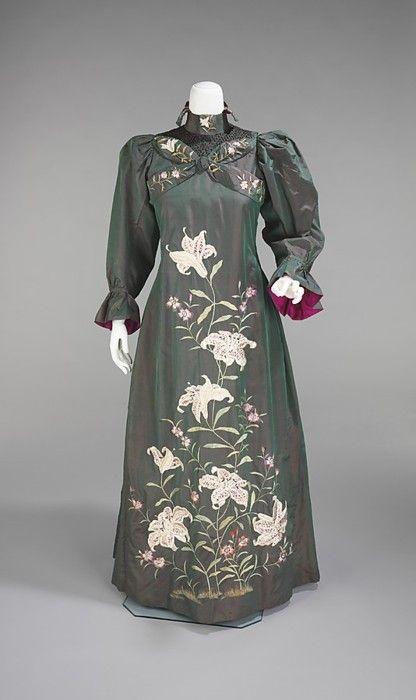 British Tea Gowns