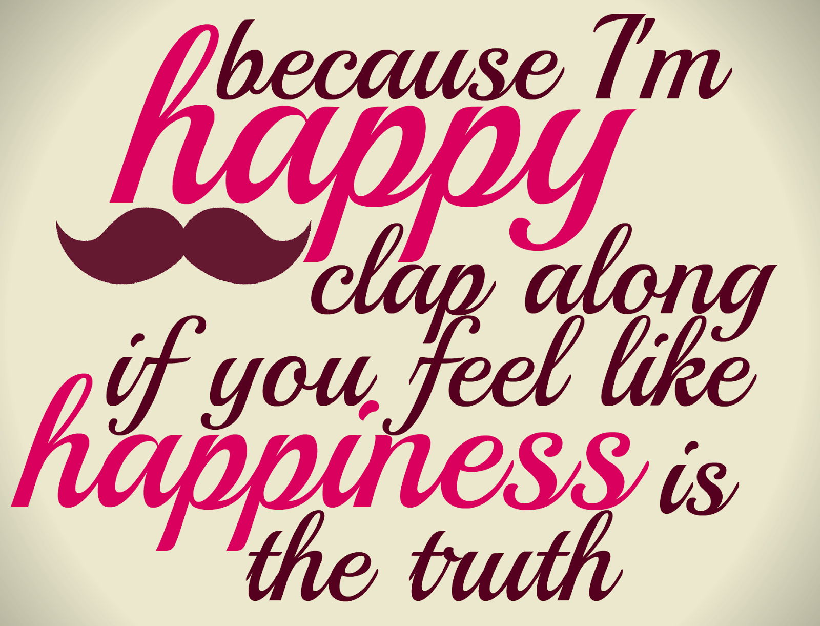 Im Happy Quotes Pleasing Because Im Happy  Because I'm Happy.if You're Happy And You . Inspiration Design