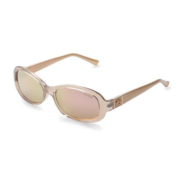 8853df7bdb Guess Mirror Lens Sunglasses-Shiny Beige - Savage Garb