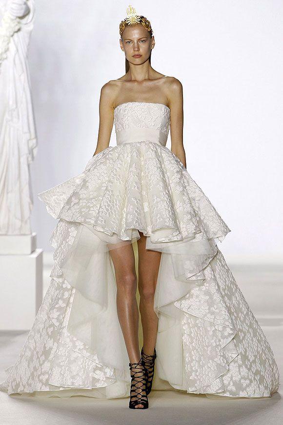 Nick Verreos: RUNWAY REPORT.....Brides of Haute Couture Fall/Winter ...