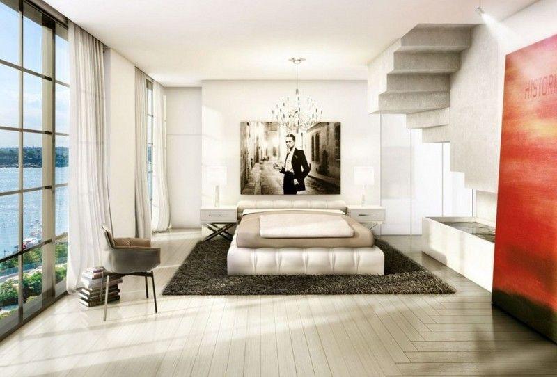 Attraktiv Inneneinrichtung Ideen Für Wohnzimmer Und Schlafzimmer U2013 88 Bilder Von  Modernen Interieurs #bilder #ideen