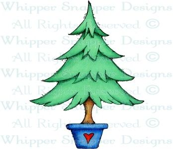Plain Evergreen - Being Retired January 2014 - Rubber Stamps - Shop