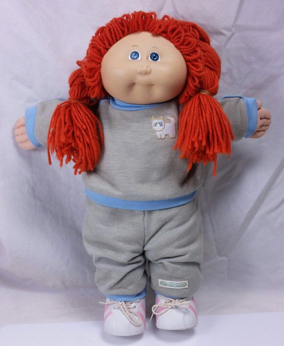 Vintage 1985 Cabbage Patch Kids Doll Red Hair Blue Eyes Girl Etsy Cabbage Patch Kids Cabbage Patch Kids Dolls Red Hair Blue Eyes Girl