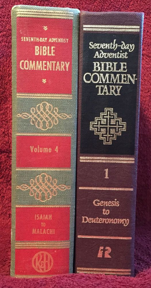 Details about Seventh-day Adventist Bible Commentary Old Volume 4