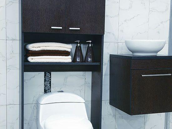 Decoracion para ba os y muebles que optimizan tu espacio - Ver muebles de bano ...