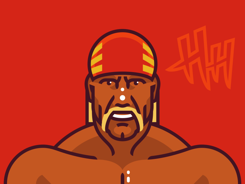 Hulk Hogan Hulk Hogan Hulk Iron Man Face