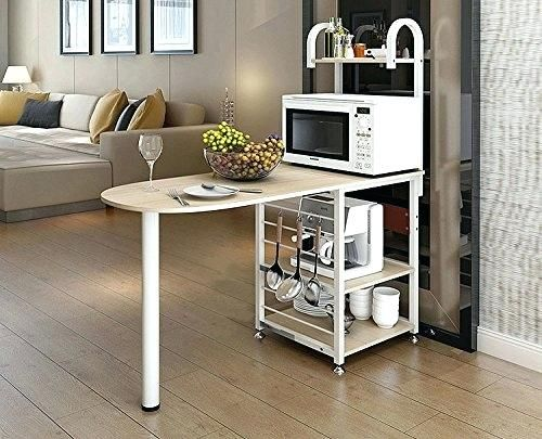 Microwave Oven Stand Furniture Kitchen Bakers Rack Microwave Oven Stand  Storage Cart Workstation Shelf Microwave Oven Stands Furniture In India