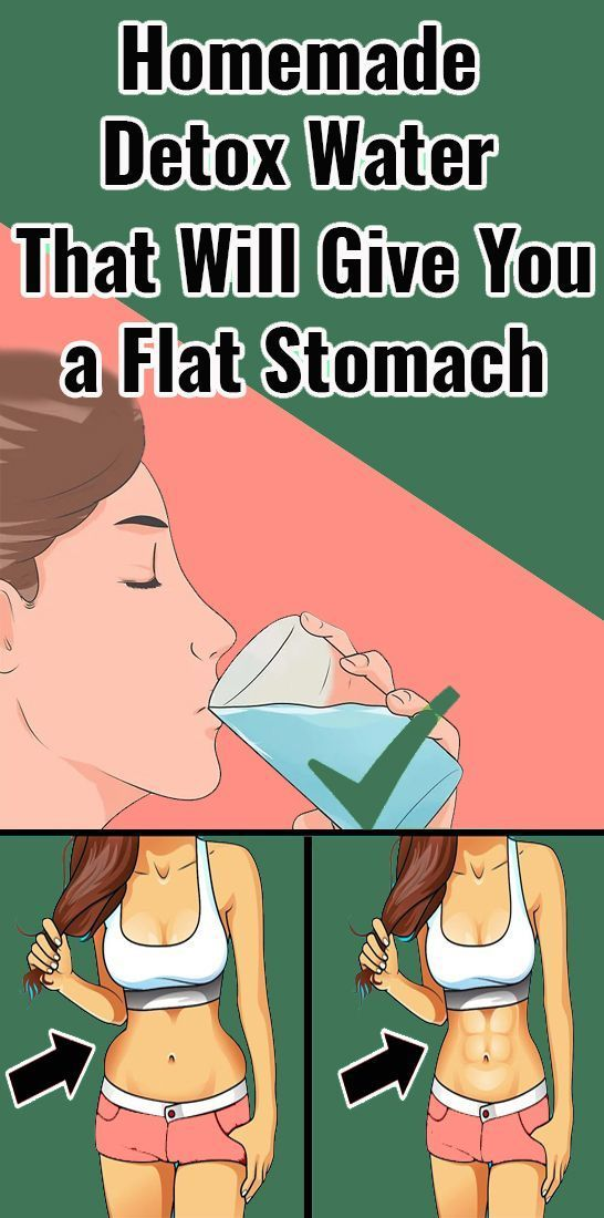 Homemade Detox Water That Will Give You a Flat Stomach – Everyday FITNESS - #Detox #Everyday #Fitnes...