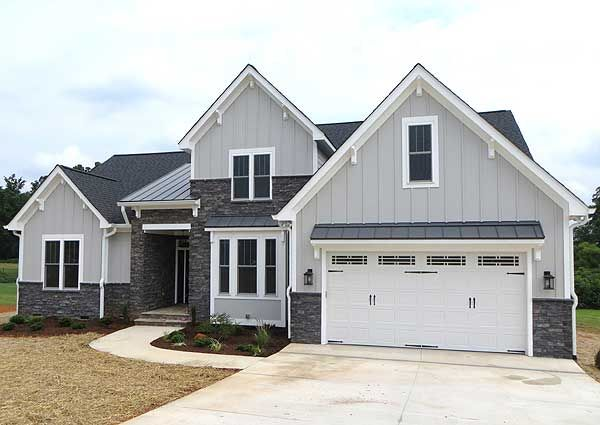 Plan 42296db 4 bedroom craftsman with cathedral ceiling - 4 bedroom 3 car garage house plans ...
