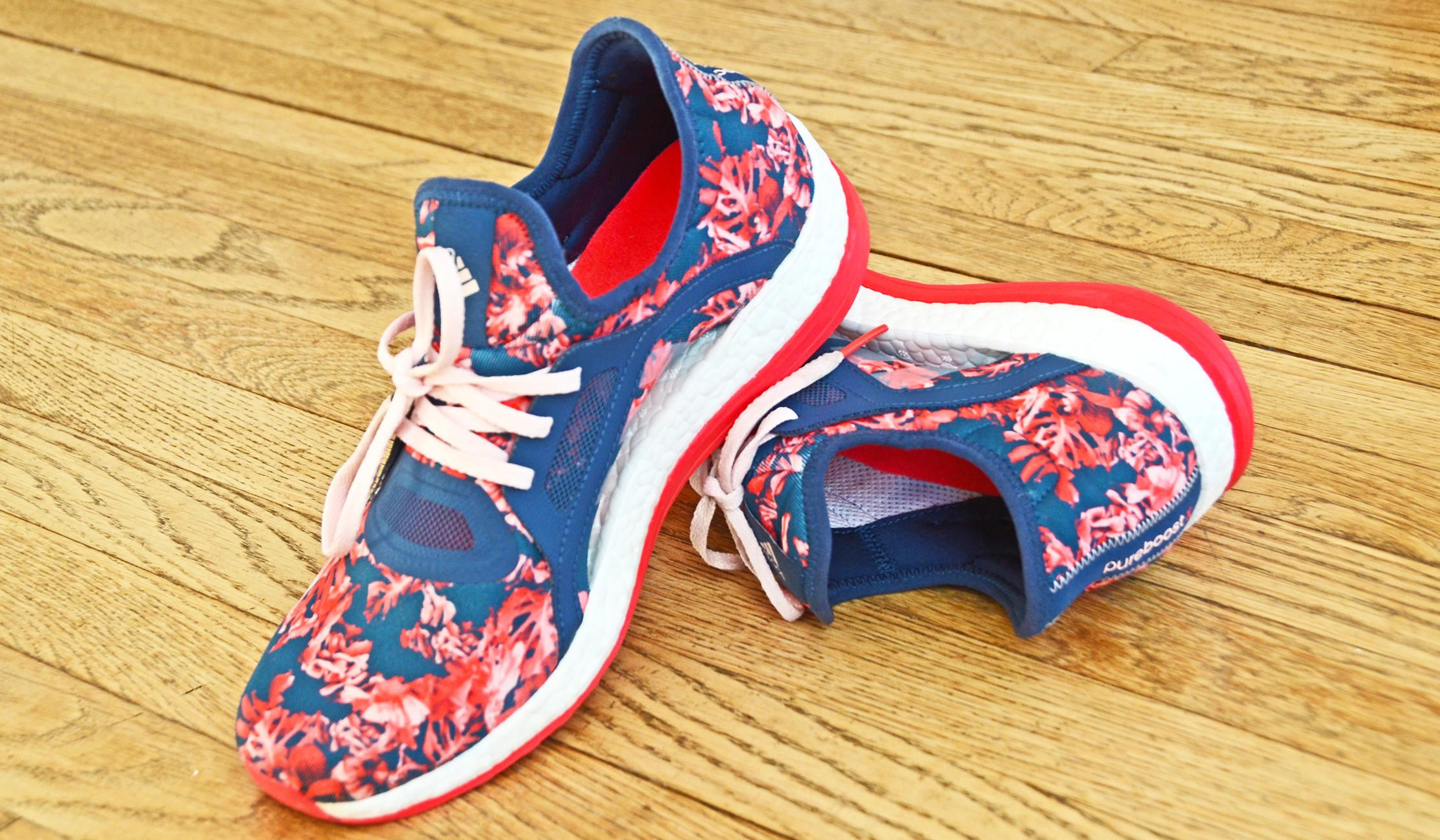 adidas pure boost floral