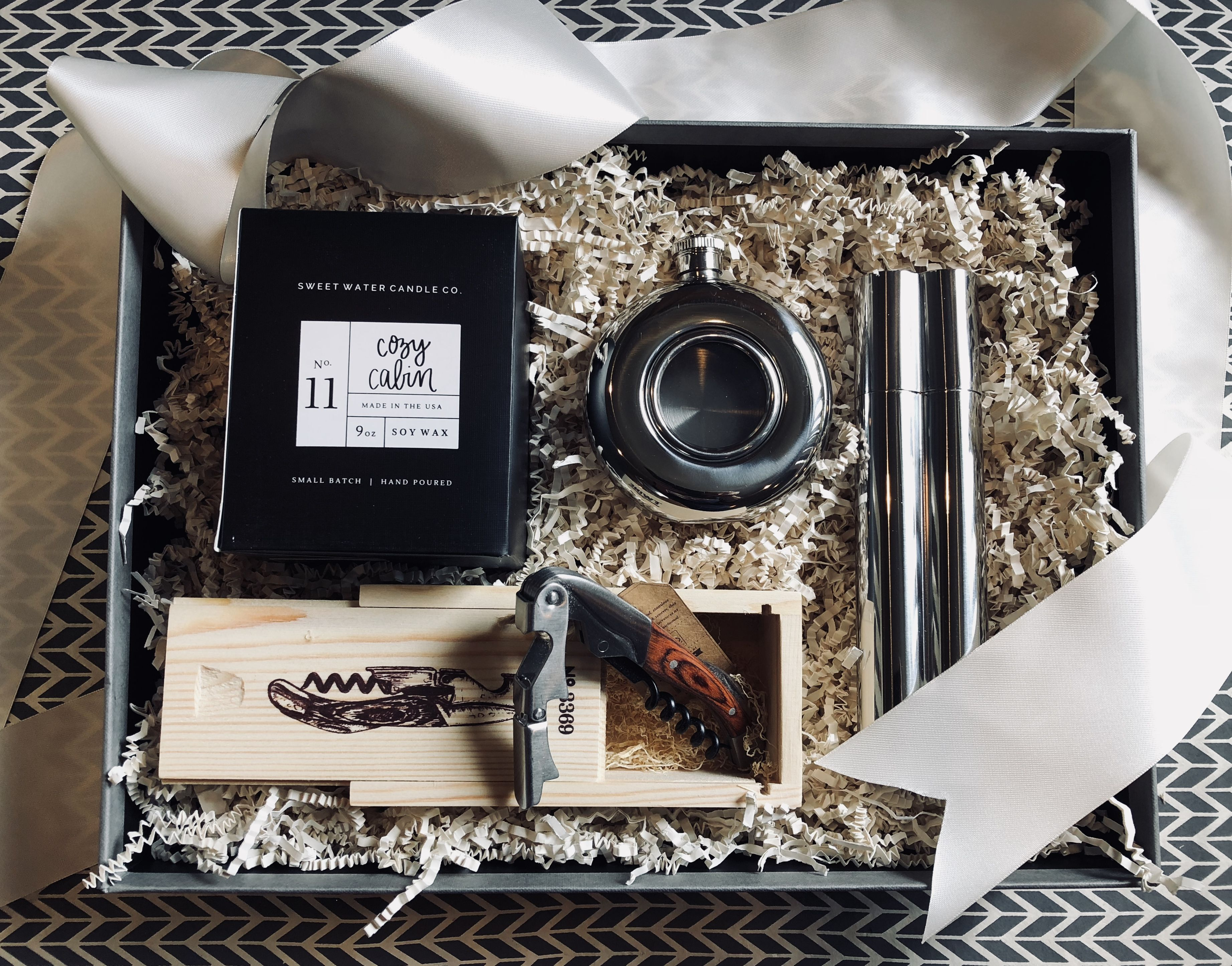 Crafted for him the crafted basket curated gifts