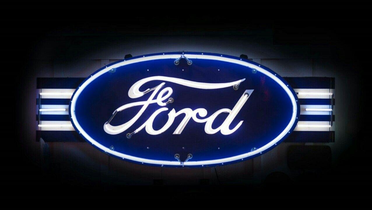 Rare Original Ford Porcelain Neon Sign Neon Signs Neon