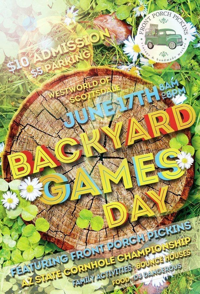 Head to Backyard Games Day and Avoid the Heat Backyard