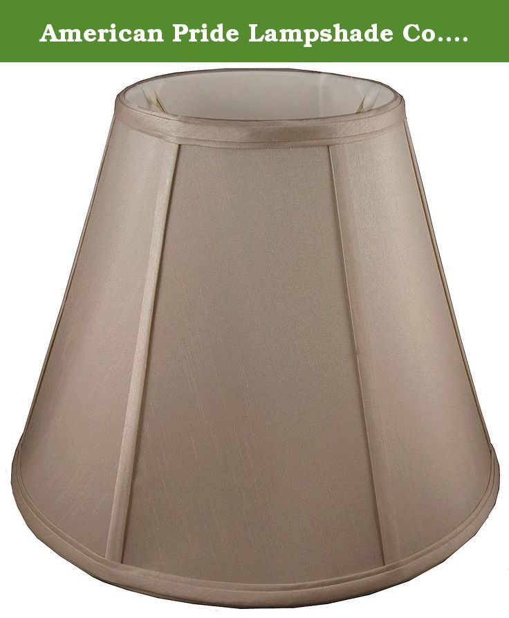 American Pride Lampshade Co 74-78090012A Round Soft Tailored