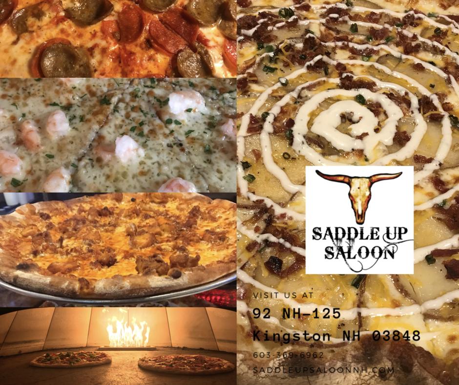 Saddleupnh Saddleupsaloon Kingstonnh Pizza Saddle Up Saloon