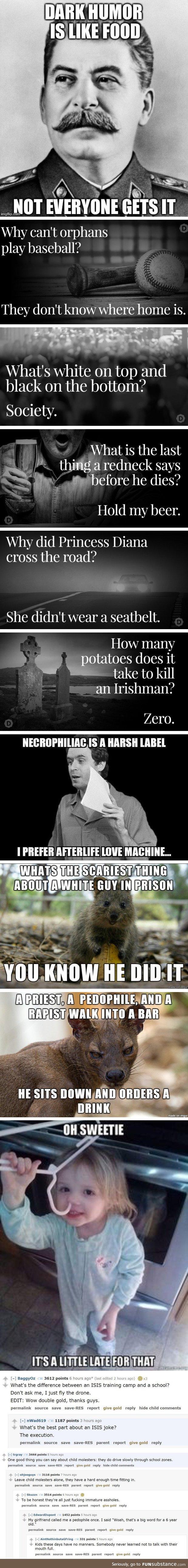 Dark Humor Comp Dark Humor Jokes Dark Humour Memes Funny