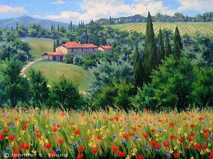 New Italian Landscape Painting Landscape Paintings Landscape