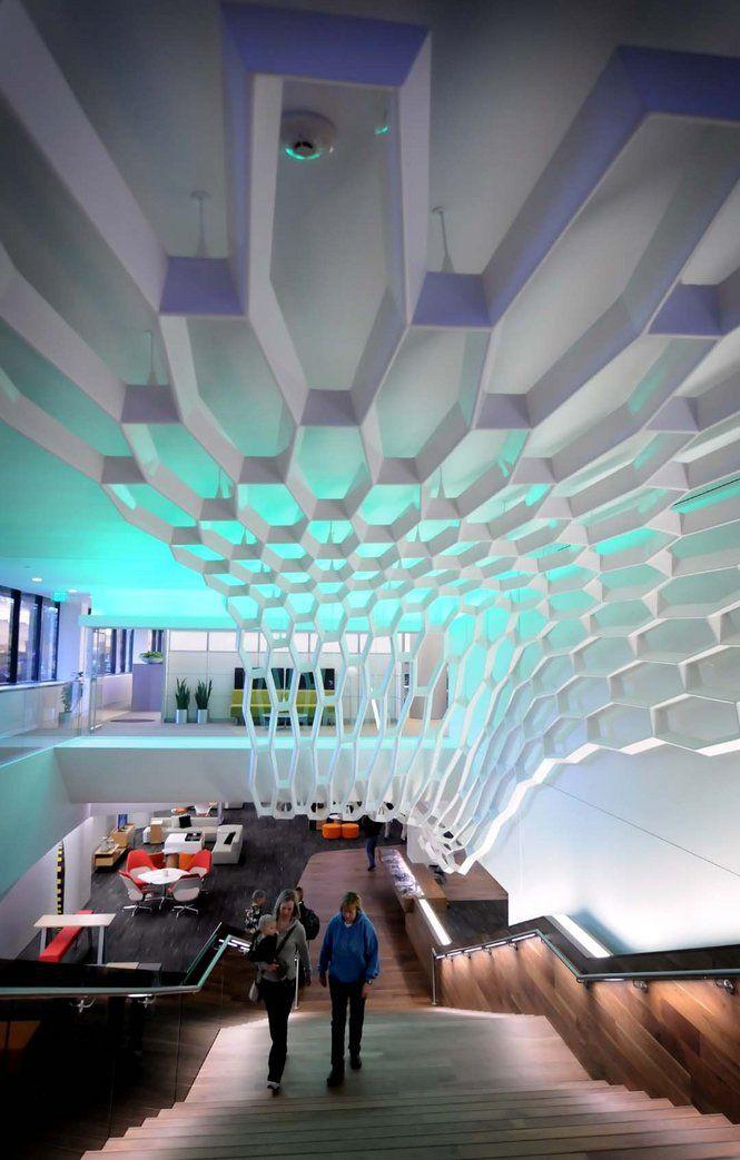 The Steelcase Work Cafe - Grand Rapids, MI #architecture # ...