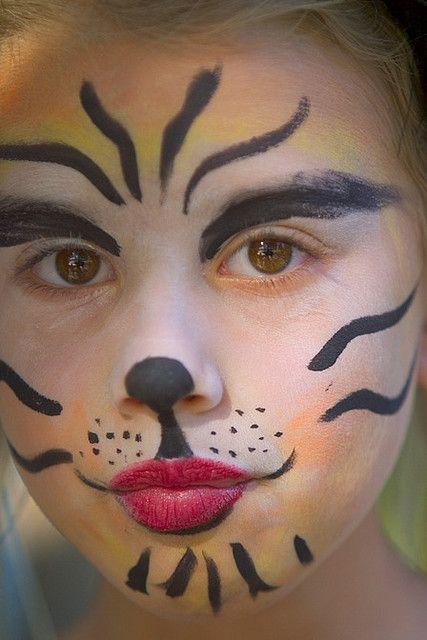 Cat Makeup Idea 3 Face Painting Easy Face Painting Halloween Lion Face Paint