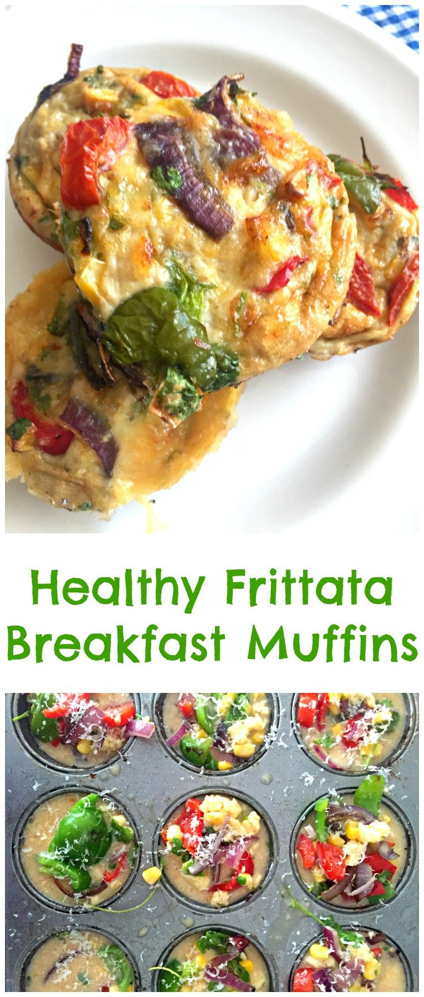 Healthy Frittata Breakfast Muffins | Recipe | Breakfast Recipes | Breakfast muffins, Muffins ...