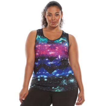 2d45c44c4a0 FILA SPORT Core Essential Workout Tank - Women s Plus Size