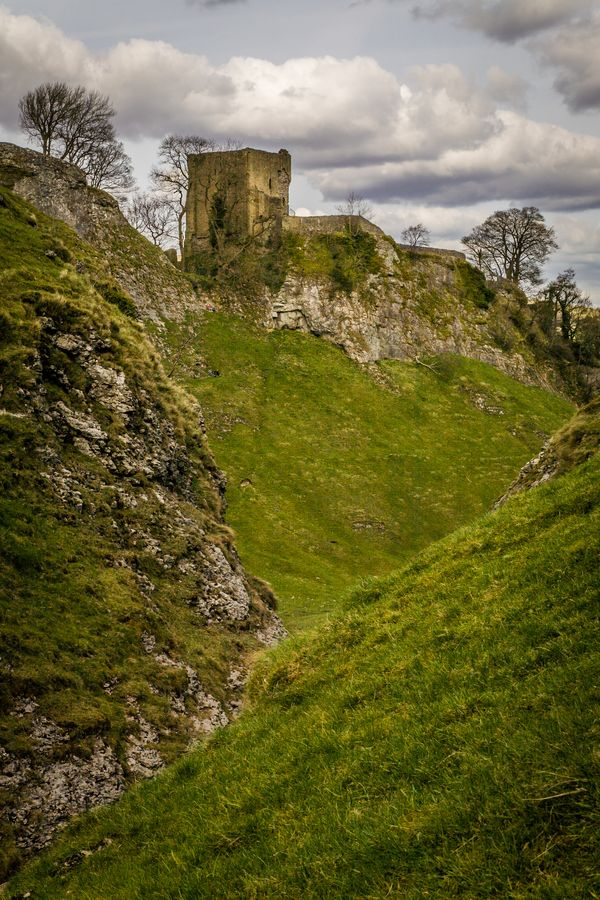 Peveril Castle, UK