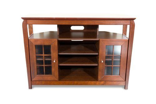 Techcraft BAY4632 48Inch Wide Corner TV Stand Walnut By Techcraft Http 48 Inch Wide Tv Stand N53