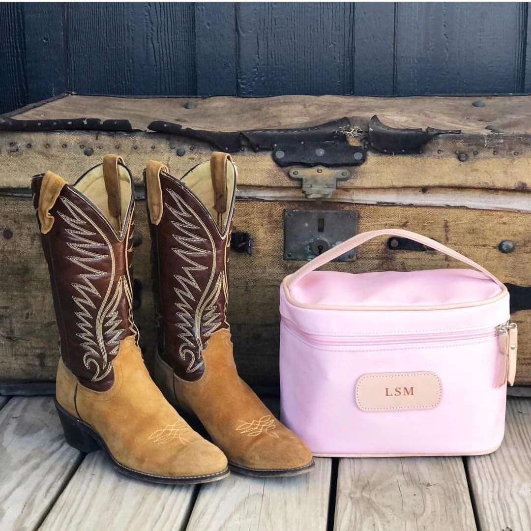 Pin By Jon Hart Design On Rose Makeup Case Cowgirl Boots