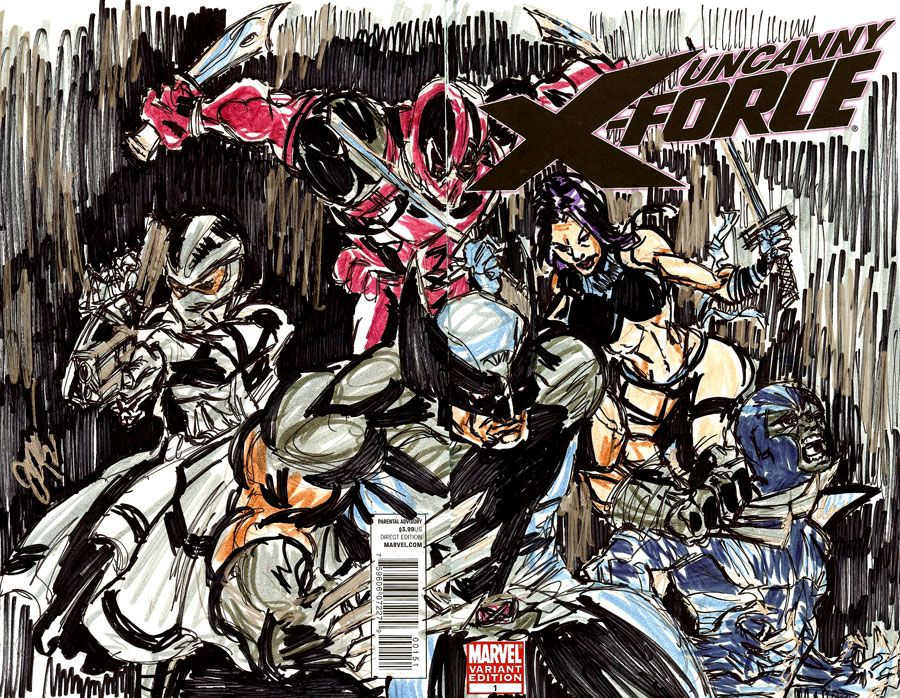 Uncanny X Force Wallpaper Uncanny X Force 1 Blank Comics