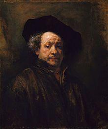 Rembrandt van Rijn I love his moodiness.