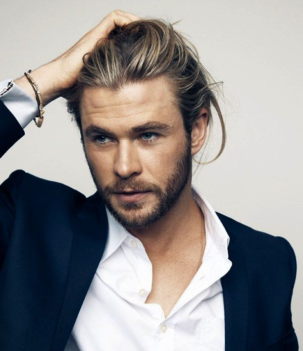 Men S Long Hairstyles For Cool Appearance Buzfash Chris Hemsworth Long Hair Styles Men Hemsworth