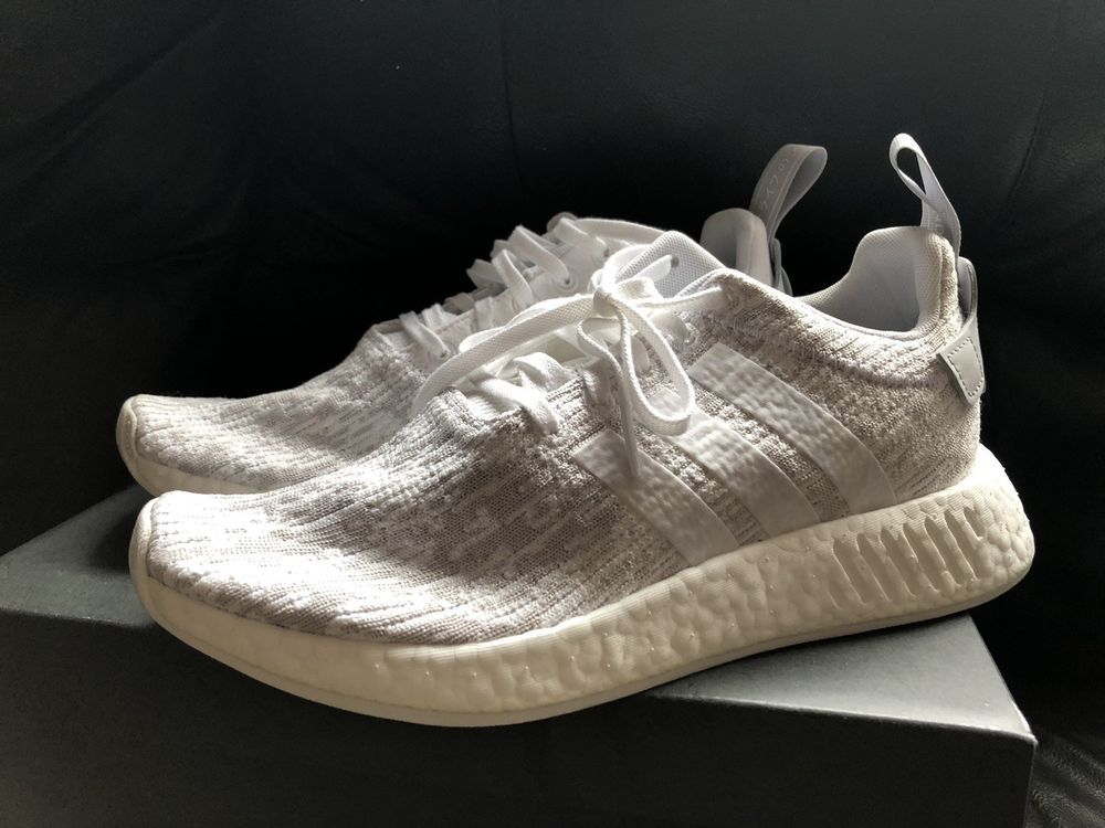 Adidas Nmd R2 White Grey Womens US Size 9  fashion  clothing  shoes   accessories  womensshoes  athleticshoes (ebay link) 99703fa17