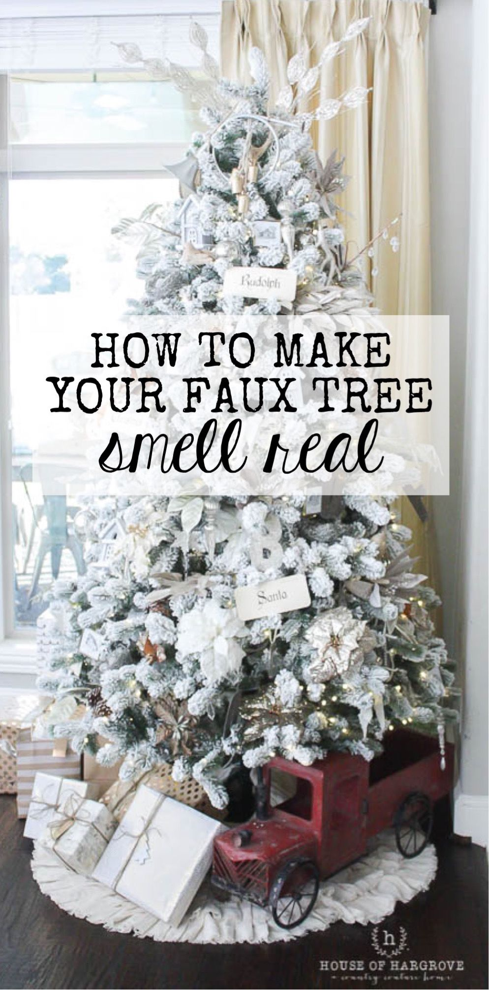 Today I am sharing my tricks for the perfect Christmas Tree. It is ...