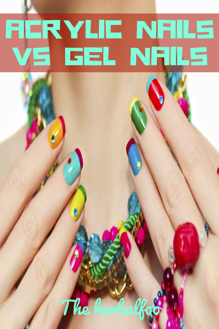 How to make the right choice between Acrylic nails vs gel nails? If ...
