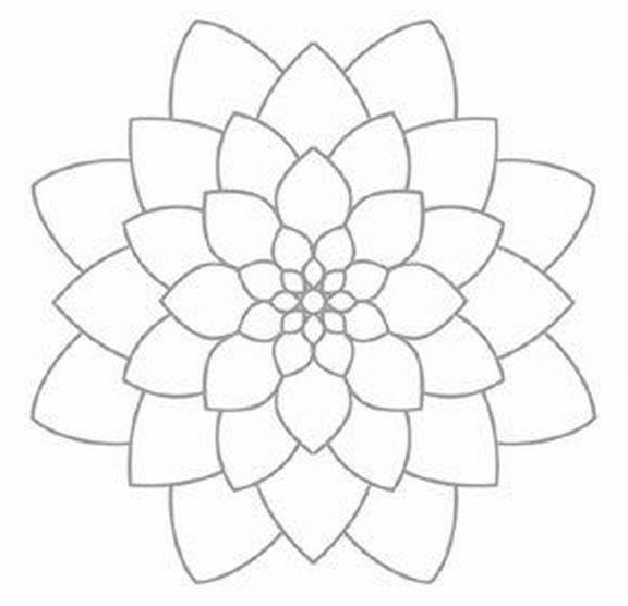 Imagenes De La Tecnica Del Puntillismo Para Imprimir Busqueda De Google Mandalas Bordado Mandalas Bordado Mexicano Patrones