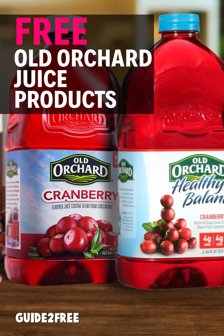FREE Old Orchard Juice Products Free stuff by mail, Free