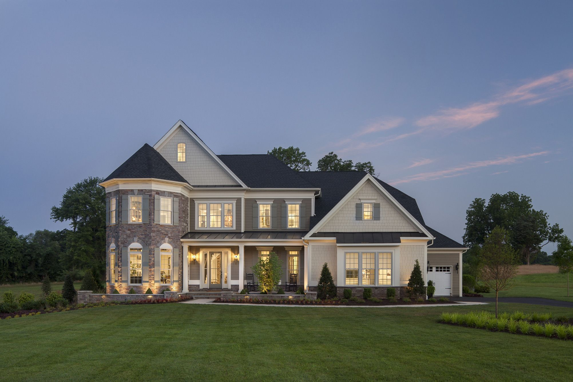 Large Volume Builder Single Family Detached 1 9 Million 1 99 Million Company Toll Brothers Model Ridgeview Le Sale House Toll Brothers New Home Designs