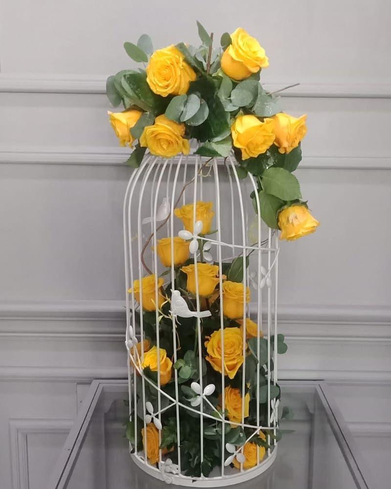 سوليتير الدوحة قطر ورد هدايا تغليف بالونات تخرج تصميم Spring Centerpiece Glass Vase Centerpieces