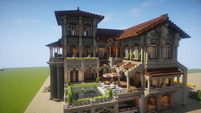 Fancy Spanish Manor #spanishthings