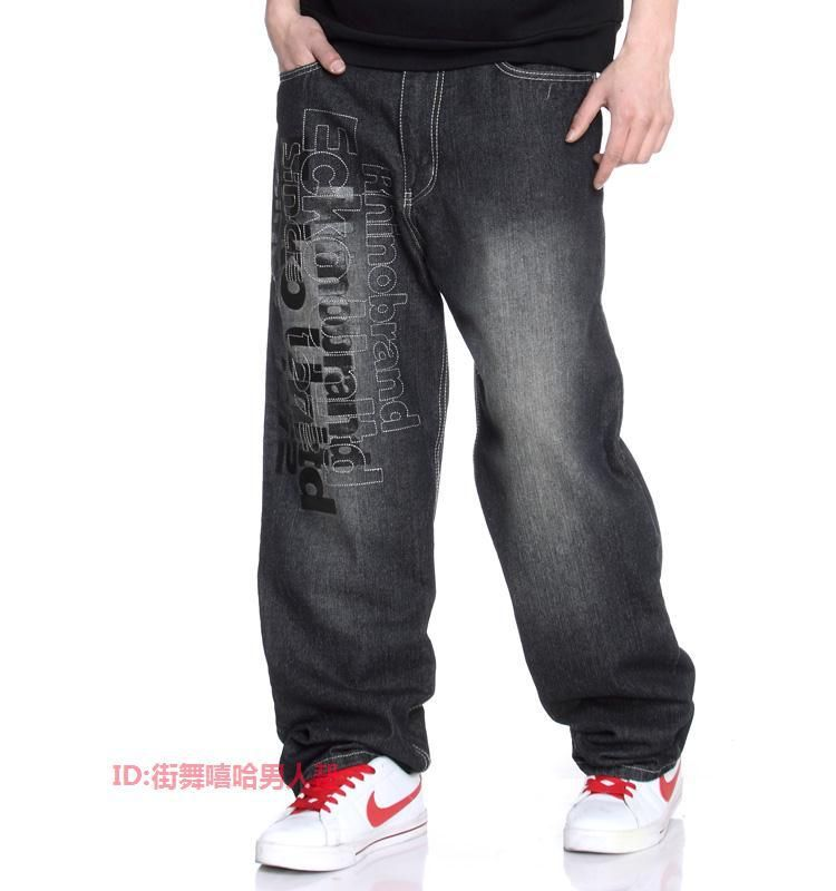 fbe4e2abdfac Fashion Design jeans pants for Men Hip hop style Jeans with High Quality cool  men loose casual men jeans pants  36.65