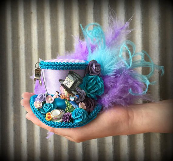how to make a mini mad hatter hat