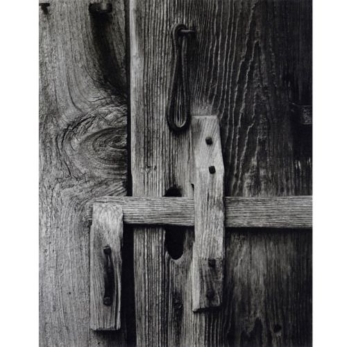 Inspiration: Latch, Vermont, Paul Strand, 1944.