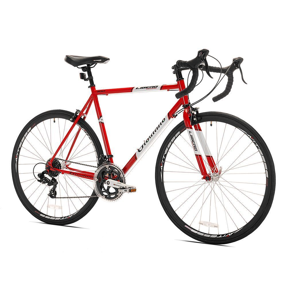 Men S Giordano Medium Frame 700c Libero Acciao Road Bike Red