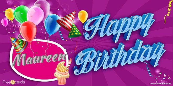 happy birthday maureen Happy Birthday Maureen | fabienne | Happy birthday, Birthday  happy birthday maureen