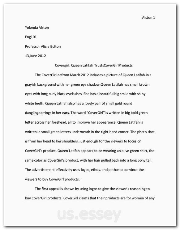example of scientific essay research
