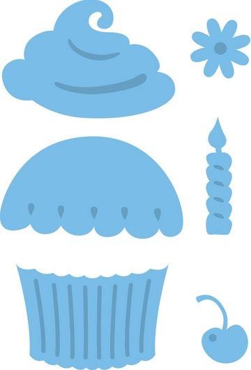 Muffion-Vorlage | Geburtstagskalender | Pinterest | Muffin cupcake ...