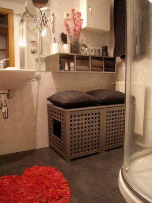 Hidden Litter Box In The Bathroom Perfect For The Cats I Would - Litter box in bathroom for bathroom decor ideas